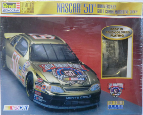 # 50 Nascar 50th Anniversary Gold Commemorative Chevy Limited Edition
