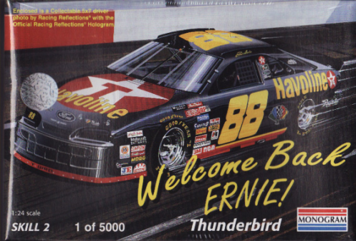 # 88 Ernie Irvan Welcome Back Ernie Havoline Thunderbird 1of 5000