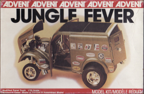 Jungle Fever Anglia Panel Truck Gasser(Alter Bausatz)