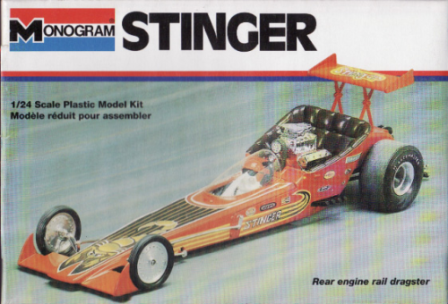 Stinger Rear Engine Dragster-1
