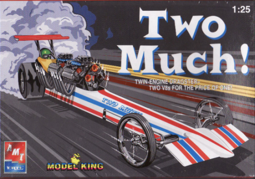 Two Much 2 Motoriger Front Engine Dragster by Model King