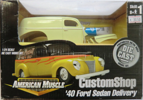 1940 Ford Sedan Delivery DieCast Custom Shop