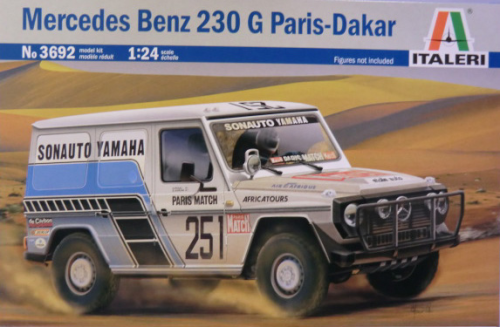 Mercedes Benz 230 G Paris-Dakar Rally