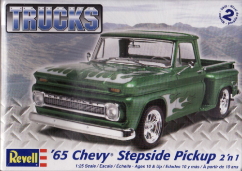 1965 Chevy Stepside Pickup 2in1