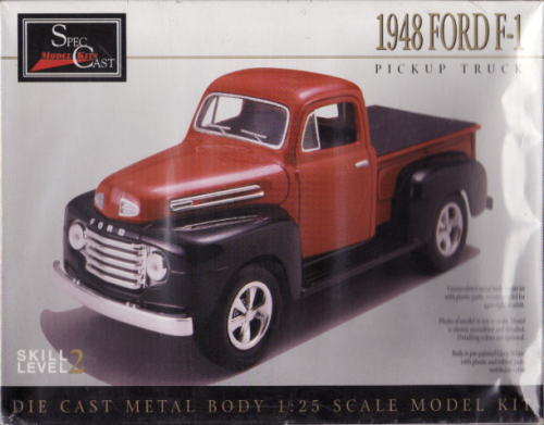 1948 Ford F-1 Metall Bausatz