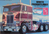 White Freightliner Dual Drive Truck Tractor