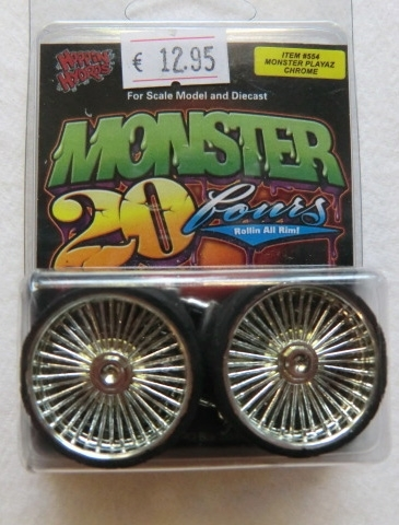 Monster Playaz Chrom Felgen