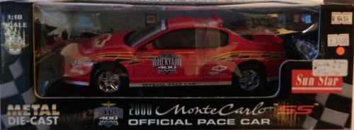 2000 Chevy Monte Carlo SS Official Pace Car Brickyard 400