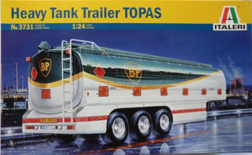 Heavy Tank Trailer BP