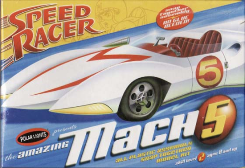 Speed Racer Mach V Snap Kit