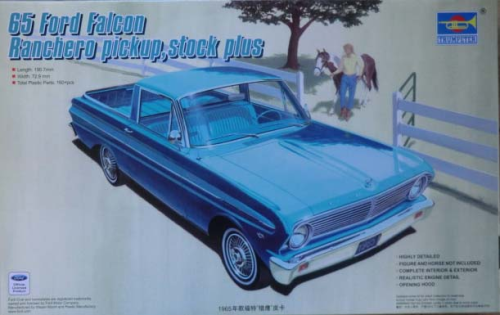 1965 Ford Falcon Ranchero Pickup, Stock Plus