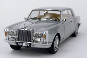 Rolls Royce Silver Shadow MPW 2-Door Coupe Silber