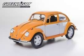 VW Käfer Custom orange/weiß