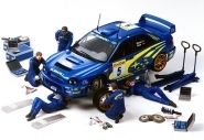 Rally Mechanics Set 5 Figuren&Werzeuge