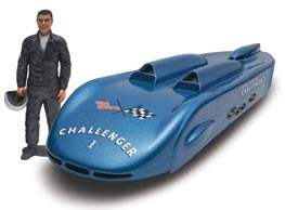 Mickey Thompson Challenger 1 mit bemalter M. Thompson Figur