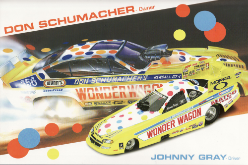 Jonny Gray Wonder Wagon 2004 Dodge Funny Car