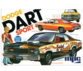 1975 Dodge Dart Sport 3in1 Kit mit Figur