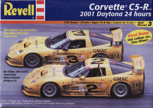 Corvette C5-R 2001 Daytona 24 Hours mit Decal Bonus