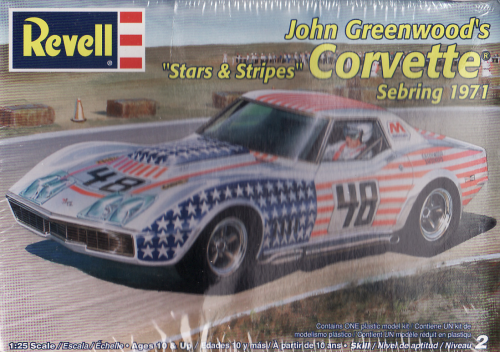 John Greenwood's Sters & Stripes 1971 Sebring Corvette