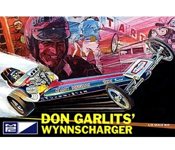 Don Garlits Wynnscharger Front Engine Dragster