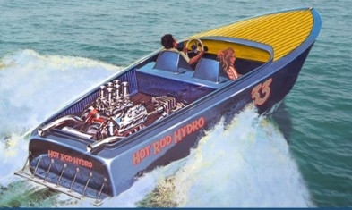 Hot Rod Hydro Boat