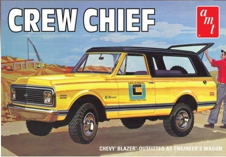 1972 Chevy Blazer Crew Chief