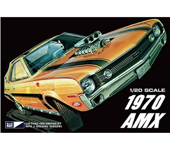 1970 AMX 1/20 3in1 Kit