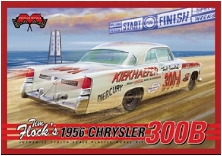 Tim Flock's 1956 Chrysler 300 B Stock Car