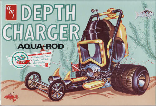 Deph Charger Aqua Rod Show Car