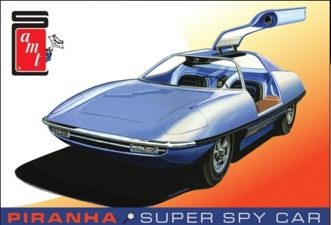 Piranha Super Spy Car ,,Original Art Box''