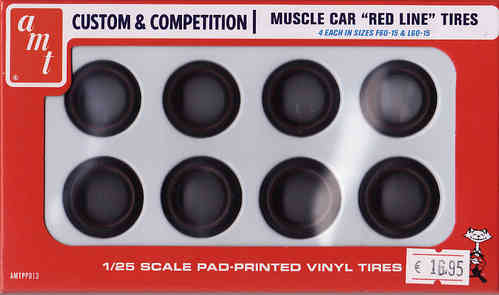 Muscle Car Red Line Tires