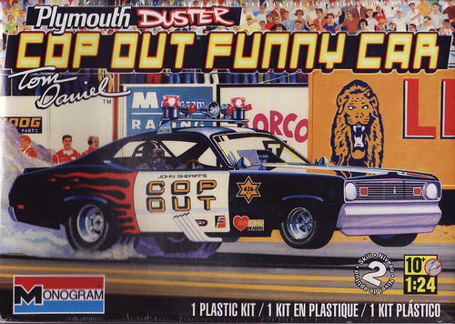 Plymouth Duster ,,Cop Out'' Funny Car