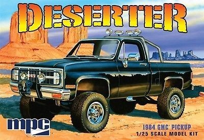 1984 GMC Deserter Pick Up (molded in White)