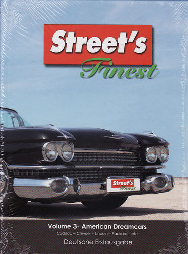 Street's Finest Vol 3 American Dreamcars Cadillac,Chrysler