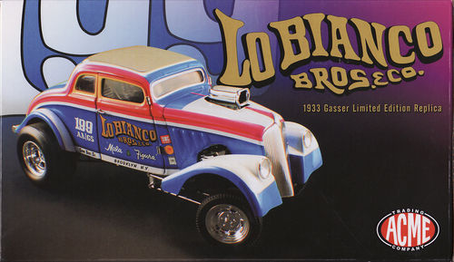 1933 Willys Gasser Lo Bianco Bros.Co. Limitiert 1 of 1250