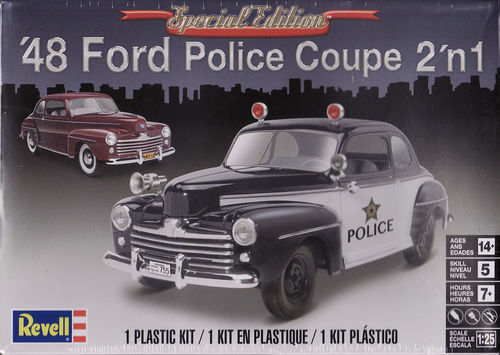1948 Ford Police Coupe 2in1 Special Edition