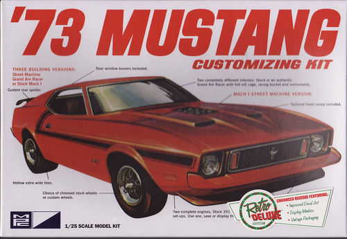 1973 Ford Mustang Customizing Kit 3in1