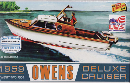1959 Owen's Deluxe Cruiser 2 Outborder Engines