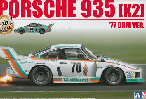 1977 Porsche 935 K2 DRM ,,VAILANT''  2in1 Decal