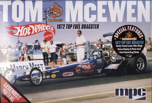Tom Mongoose Mc Ewen 1972 Top Fuel Dragster