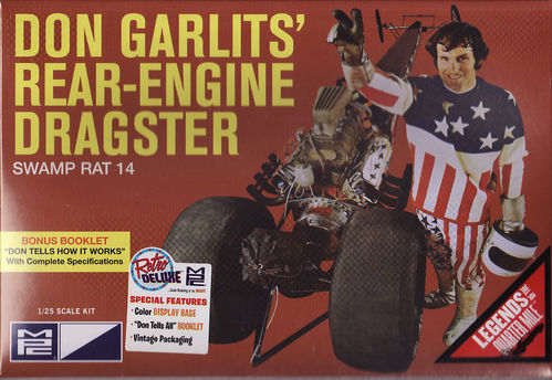 Don Garlits Rear-Engine Dragster,, Swamp Rat 14''