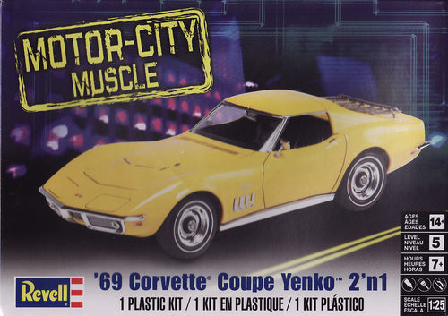 1969 Corvette Coupe Yenko 2in1