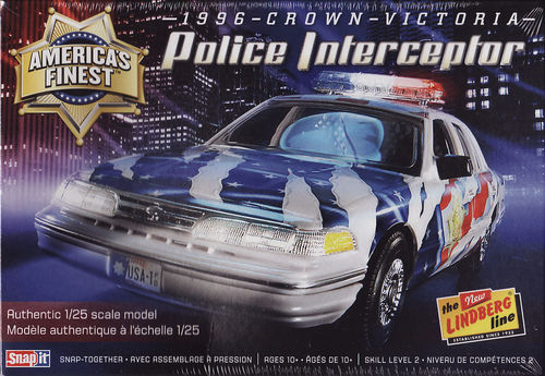 1996 Ford Crown-Victoria Police Interceptor Snap Kit