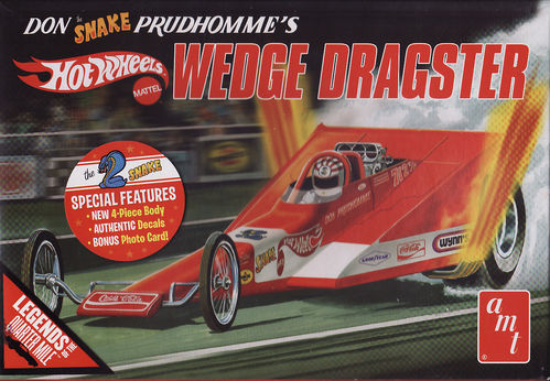 Don Snake Prudhomme's Hot Wheels Wedge Dragster