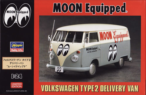 VW Type 2 Delivery Van ,,MOON'' Equipped Limitiert