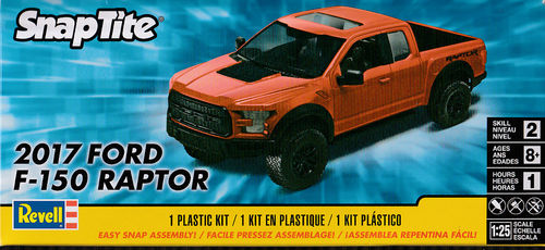 2017 Ford F-150 Raptor Snap Kit
