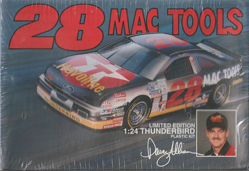 #28 D.Allison ,,MAC TOOLS'' Ford Thunderbird