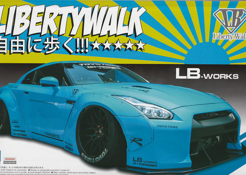 Nissan Skyline GTR LIBERTYWALK