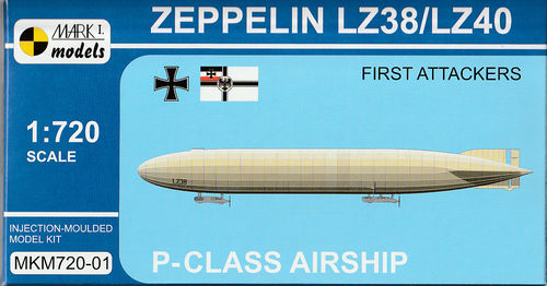 Zeppelin LZ38/LZ40 225mm lang
