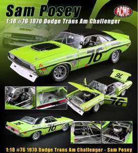 #76 Sam Posey 1970 Dodge Challenger Trans Am
